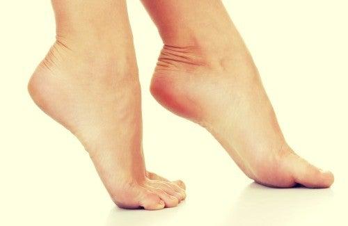 Hvilken type høye hæler er skadelig for helsen?