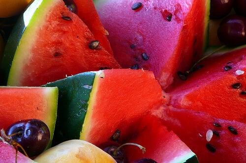Vannmelon inneholder betakaroten