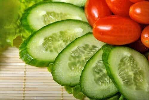 Den sunne agurken