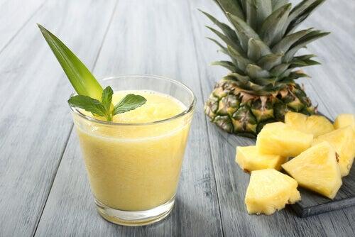 ananas har mange fordeler