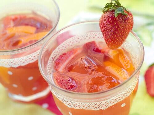 jordbærjuice