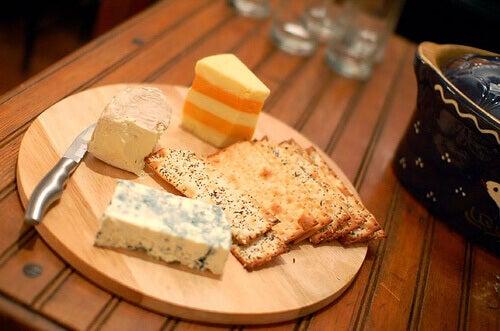 Brett med ost
