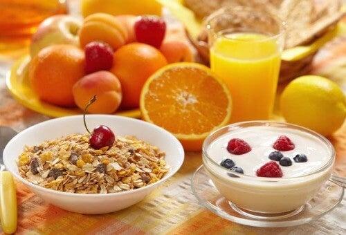 sunn og enkel frokost