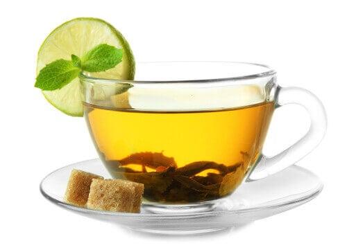 grønn te er bra for hjertet