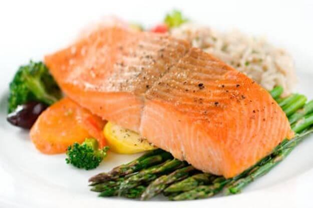 laks er rik på omega-3