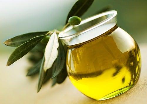 olivenolje bidrar til sunn hud