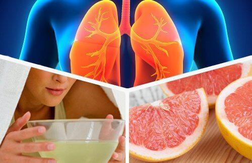 Avgifte lungene