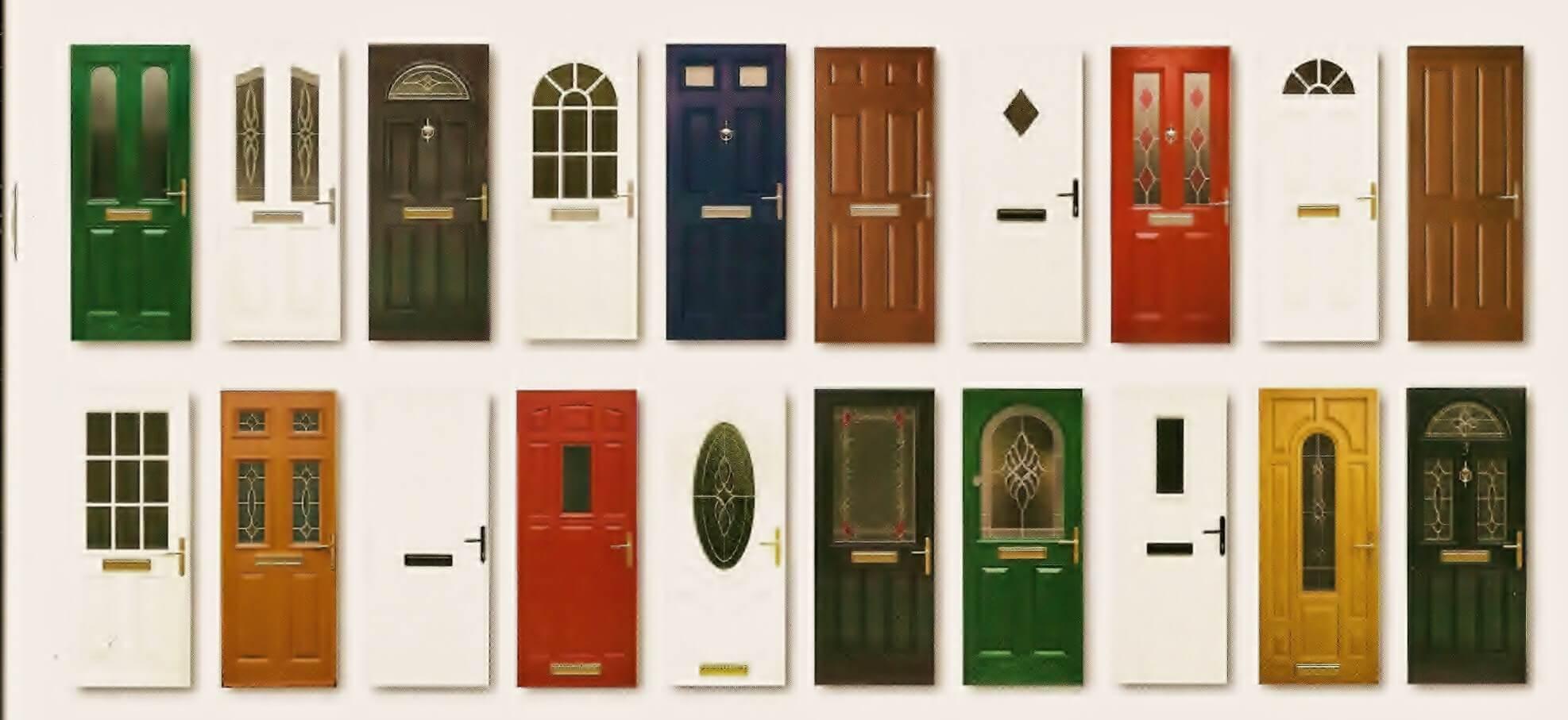 Når du bygger et hus regnes døra som den siste finpussen som gjør huset ferdig