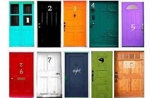 10 dørers personlighetstest