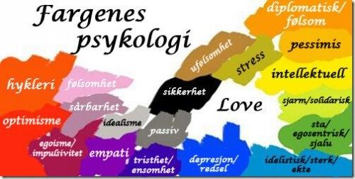 Fargenes psykologi