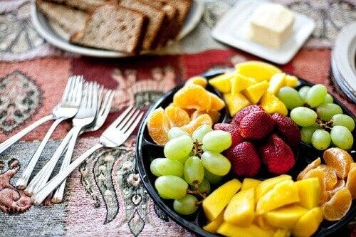 frukt til hjertet