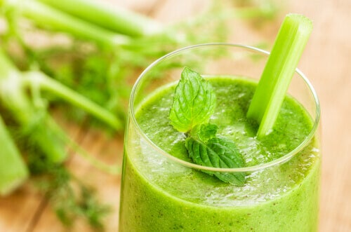 grønn detox-juice