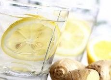 sitron-vann-ingefær
