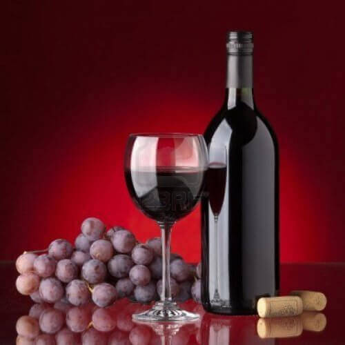 4-rødvin