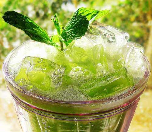 Mynte-og-agurk-juice