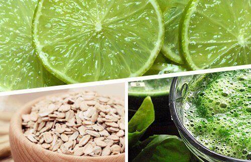 Raskere vektreduksjon med sitron, havre og spirulina