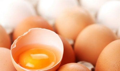 Hva er best: eggeplomme eller eggehvite?