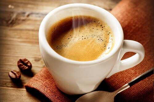 å gå ned i vekt Kaffe ekstrakt