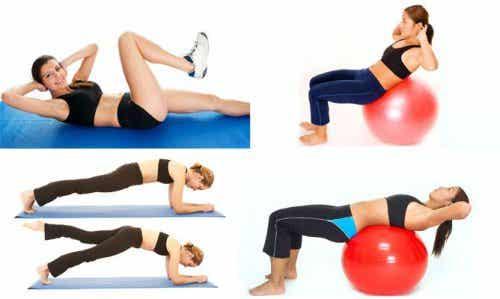 Mageøvelser: Fordeler med forskjellige øvelser