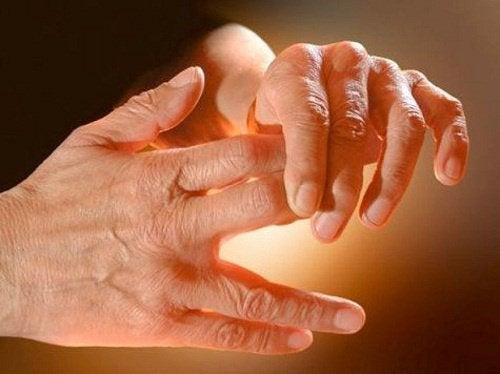 Hva skjer når du har sovende hender og føtter?
