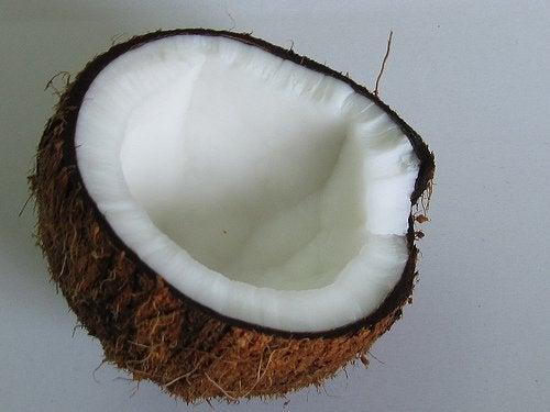 Kokosvann forhindrer dehydrering