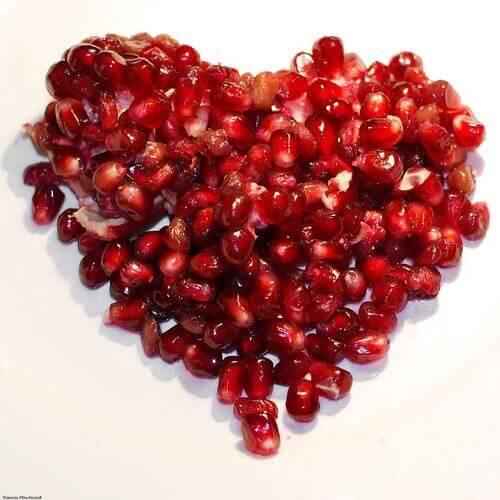 granateple-hjerte