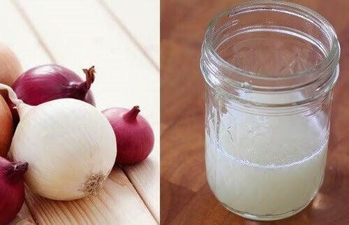 Hvordan lage juice av løk for å forhindre håravfall