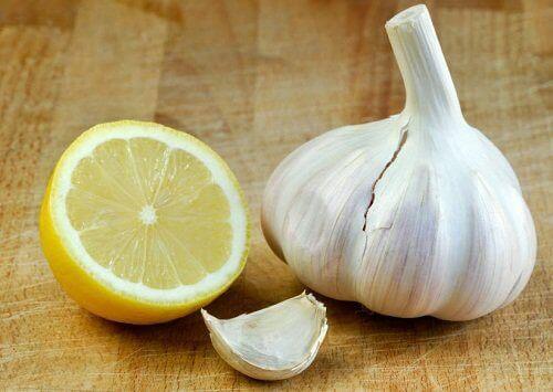 kur med hvitløk og sitron