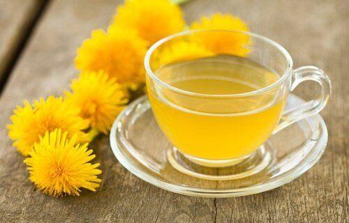te av løvetann