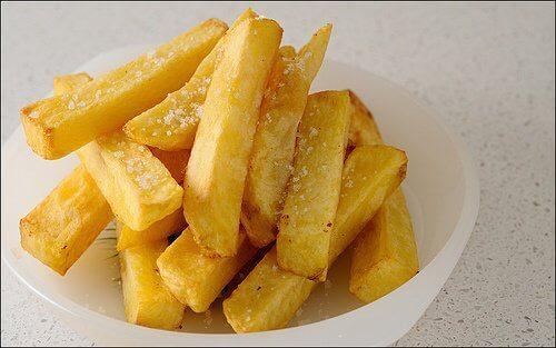 unngå fritert mat