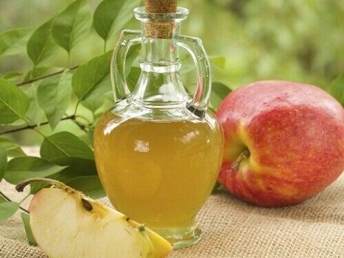 Kan du gå ned i vekt med eplesidereddik?