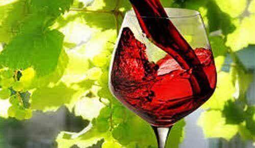Et glass rødvin kan tilsvare 1 times trening