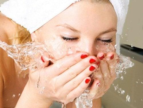 3-ansiktsvask