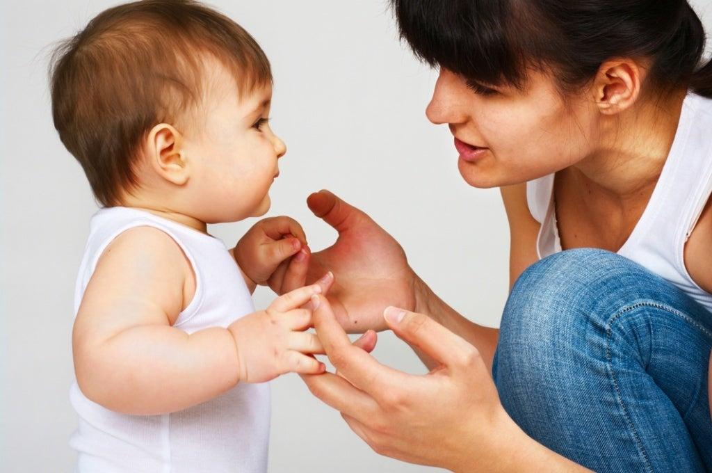 Barn-lærer-å-snakke