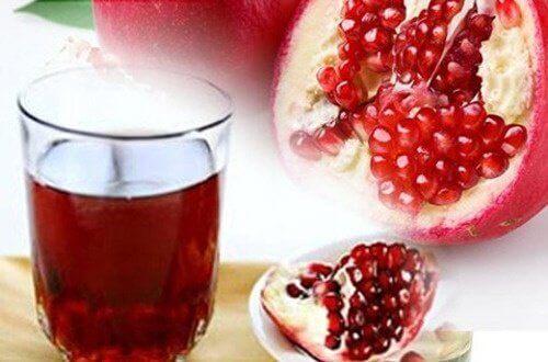 Blokkerte arterier: rens med granateplejuice