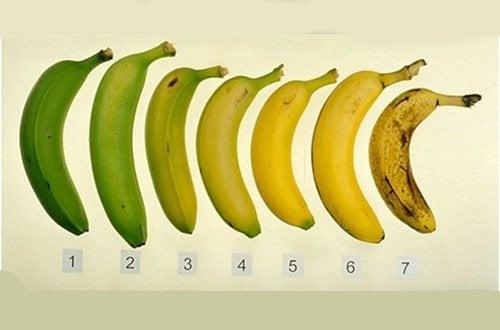 Grønn eller moden banan - hva er sunnest - hovedbilde