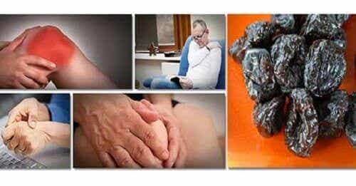 Fordeler med svisker: Forebygger tap av benmasse