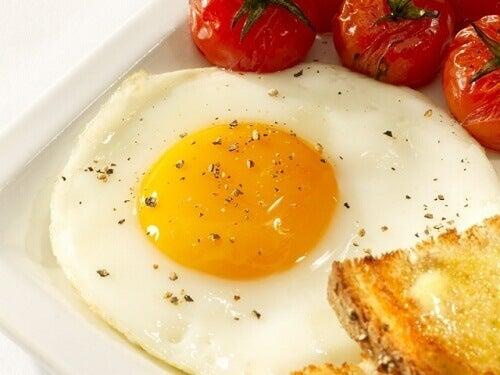 egg øker forbrenningen