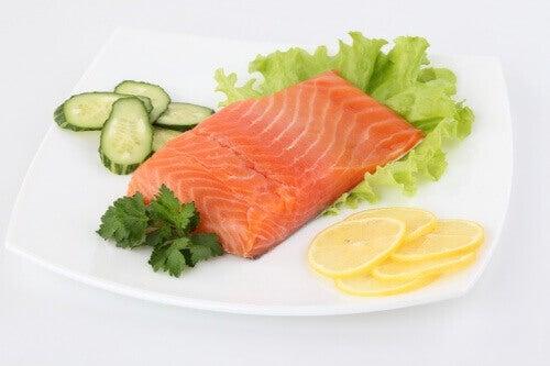 Spis mye fisk