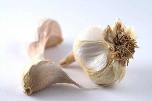 Bruk hvitløk for å rense kroppen for tungmetaller