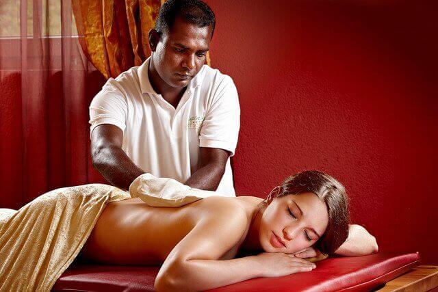 avslappende massasje