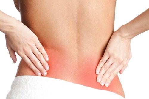Mulige årsaker til at du har ryggsmerter