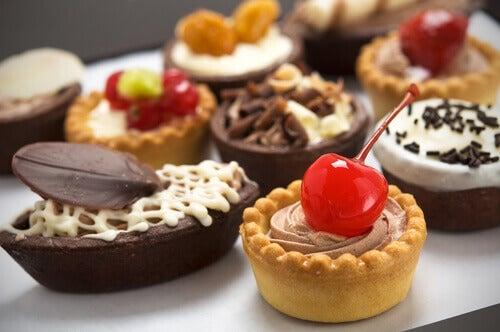 søtsaker forårsaker cellulitter