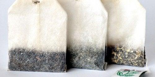 Gjenbruk av teposer og kaffekapsler