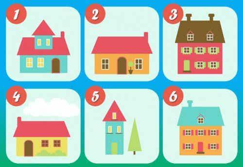 Personlighetstest: De seks husene