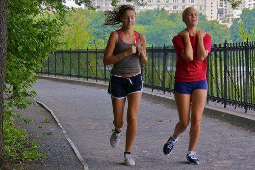 kvinner jogger