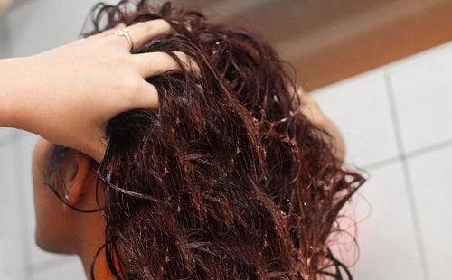 Linfrøvann for å styrke håret - hovedbilde