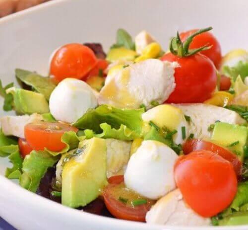 Unngå oppblåsthet med denne salaten