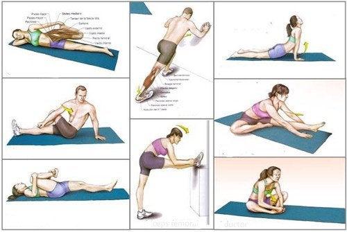 De 9 beste strekkøvelsene for å holde seg i form