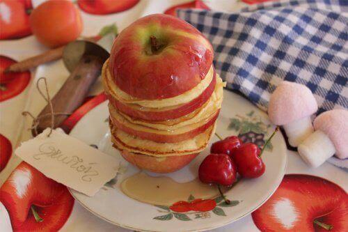 2-eplesmørbrød